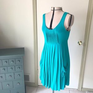 Calvin Klein Green knit dress